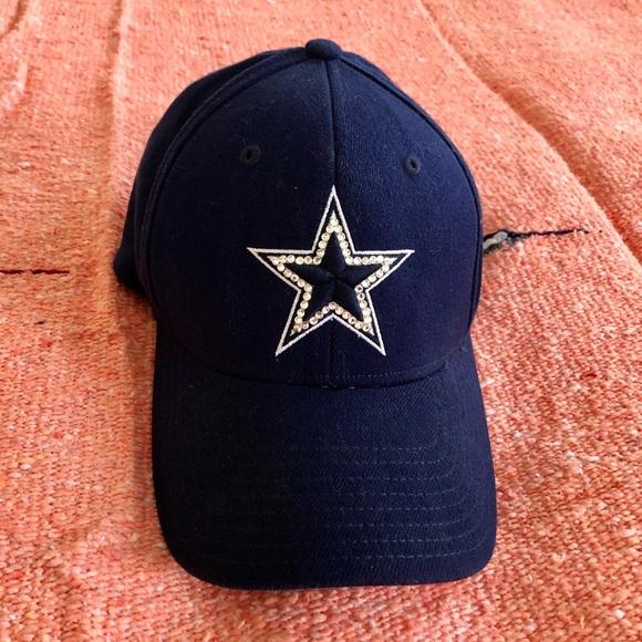 fa525cf91 Dallas Cowboys NFL gemmed baseball style hat